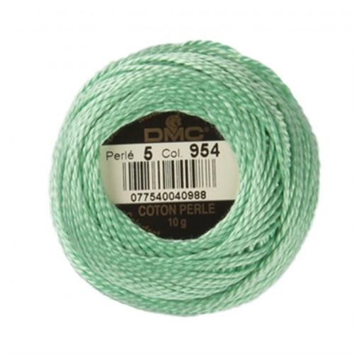Dmc Koton Perle Yumak 10 Gr Yeşil No:5 - 954
