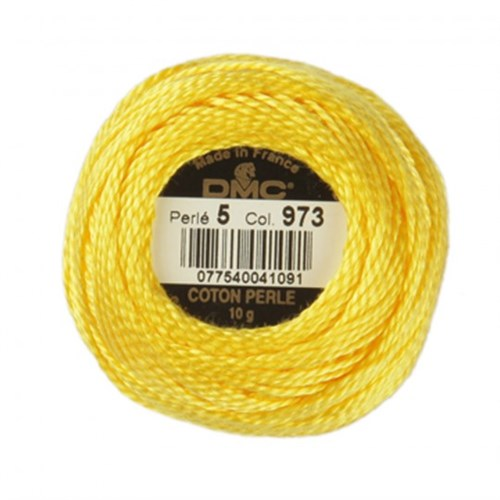 Dmc Koton Perle Yumak 10 Gr Sarı No:5 - 973