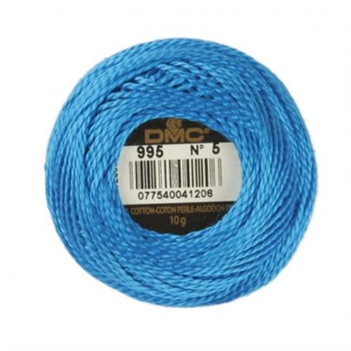Dmc Koton Perle Yumak 10 Gr Mavi No:5 - 995