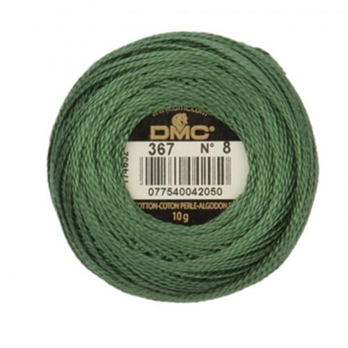 Dmc Koton Perle Yumak 10 Gr Yeşil No:8 - 367