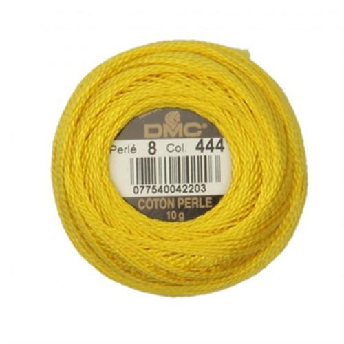Dmc Koton Perle Yumak 10 Gr Sarı No:8 - 444