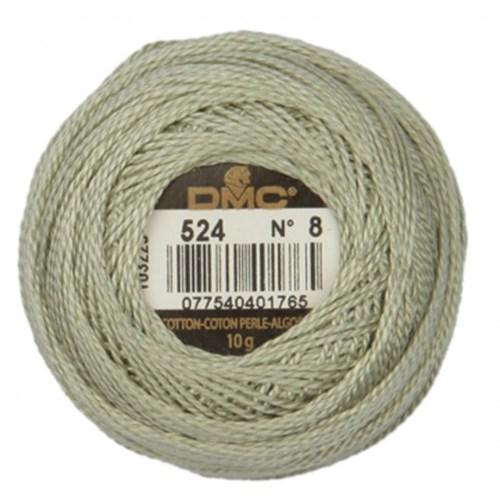 Dmc Koton Perle Yumak 10 Gr Yeşil No:8 - 524