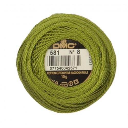 Dmc Koton Perle Yumak 10 Gr Yeşil No:8 - 581