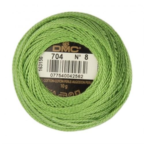 Dmc Koton Perle Yumak 10 Gr Yeşil No:8 - 704