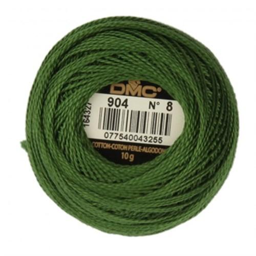 Dmc Koton Perle Yumak 10 Gr Yeşil No:8 - 904
