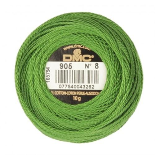 Dmc Koton Perle Yumak 10 Gr Yeşil No:8 - 905