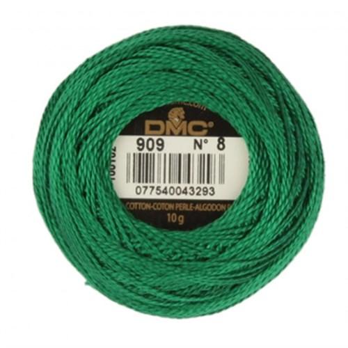Dmc Koton Perle Yumak 10 Gr Yeşil No:8 - 909