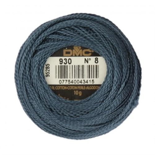 Dmc Koton Perle Yumak 10 Gr Mavi No:8 - 930
