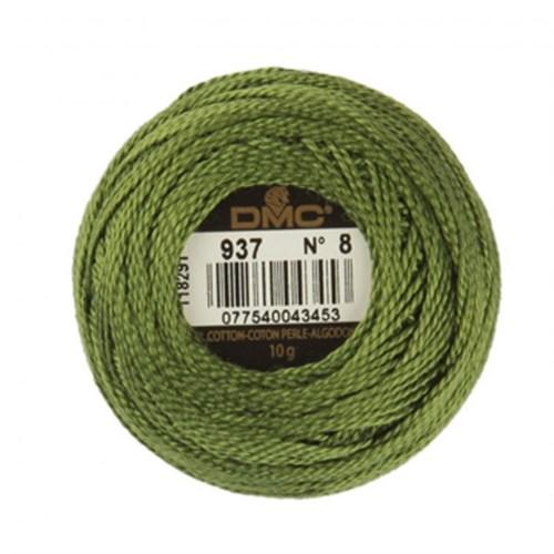 Dmc Koton Perle Yumak 10 Gr Yeşil No:8 - 937
