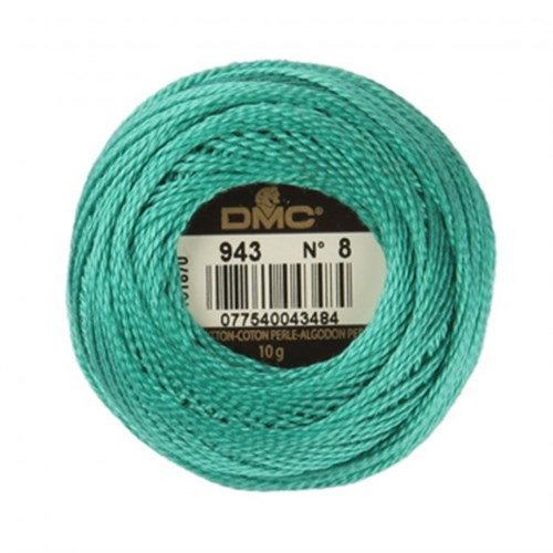 Dmc Koton Perle Yumak 10 Gr Mavi No:8 - 943