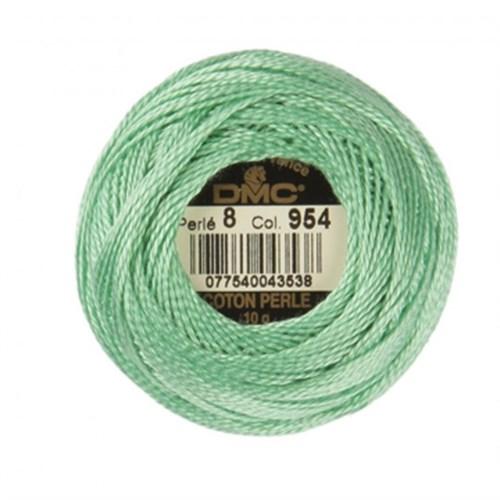 Dmc Koton Perle Yumak 10 Gr Yeşil No:8 - 954