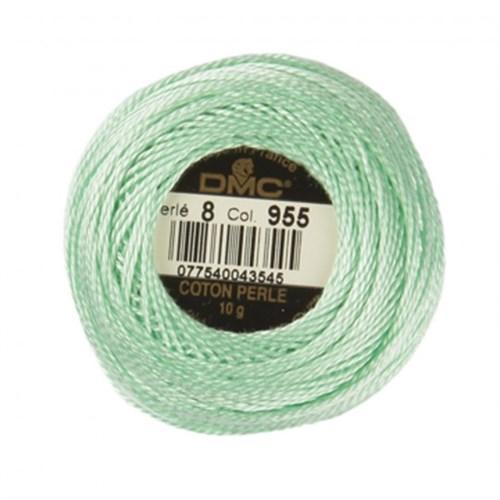 Dmc Koton Perle Yumak 10 Gr Yeşil No:8 - 955