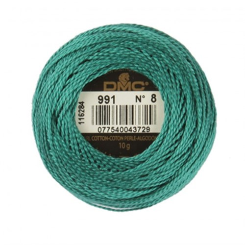 Dmc Koton Perle Yumak 10 Gr Yeşil No:8 - 991