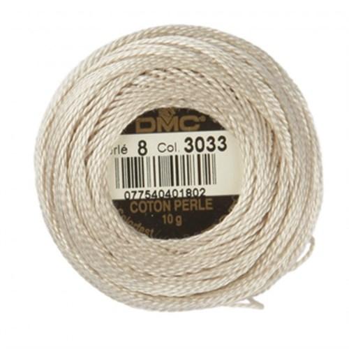 Dmc Koton Perle Yumak 10 Gr Beyaz No:8 - 3033