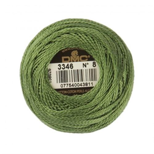 Dmc Koton Perle Yumak 10 Gr Yeşil No:8 - 3346
