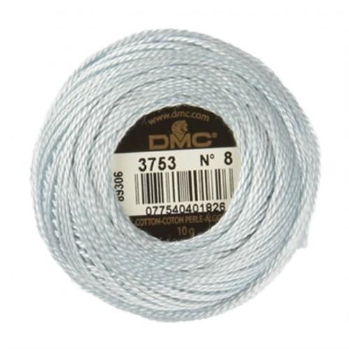 Dmc Koton Perle Yumak 10 Gr Beyaz No:8 - 3753