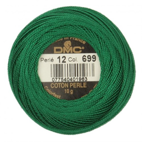 Dmc Koton Perle Yumak 10 Gr Yeşil No:12 - 699