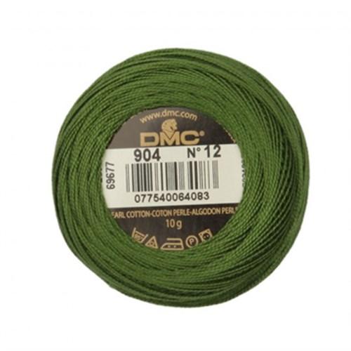 Dmc Koton Perle Yumak 10 Gr Yeşil No:12 - 904