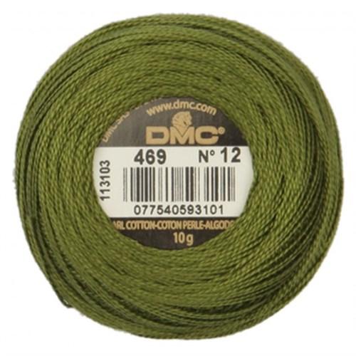 Dmc Koton Perle Yumak 10 Gr Yeşil No:12 - 469