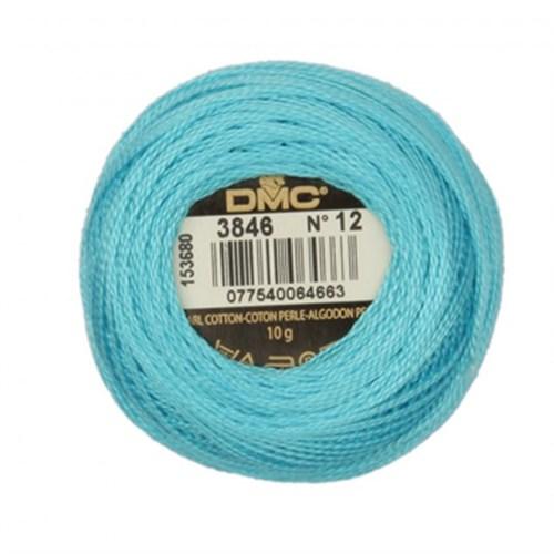 Dmc Koton Perle Yumak 10 Gr Mavi No:12 - 3846