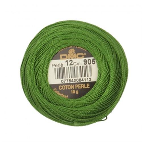 Dmc Koton Perle Yumak 10 Gr Yeşil No:12 - 905