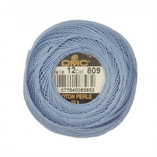 Dmc Koton Perle Yumak 10 Gr Mavi No:12 - 809