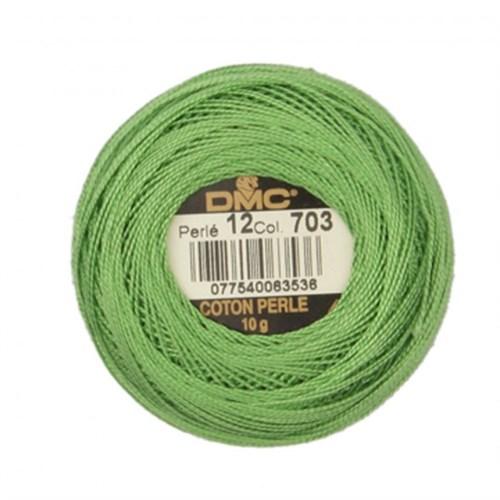 Dmc Koton Perle Yumak 10 Gr Yeşil No:12 - 703