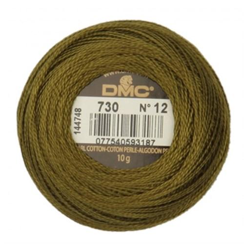 Dmc Koton Perle Yumak 10 Gr Yeşil No:12 - 730