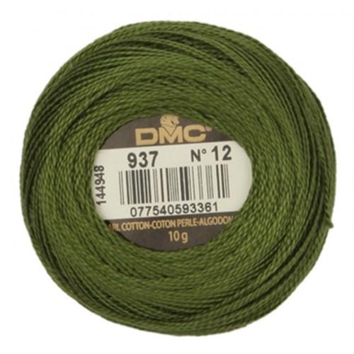 Dmc Koton Perle Yumak 10 Gr Yeşil No:12 - 937