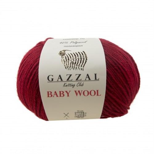 Gazzal Baby Wool Kırmızı Bebek Yünü - 816