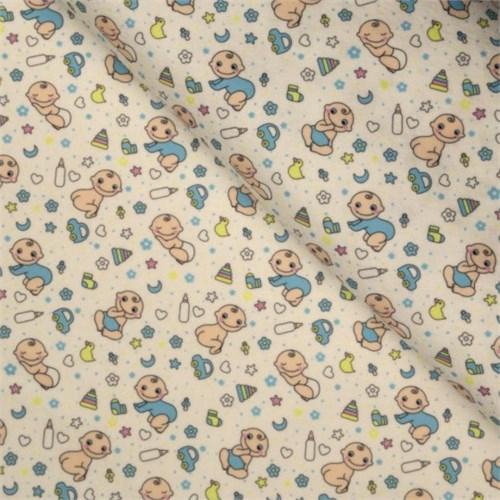 La Mia 50X50 Cm Bebek Temalı Desenli Keçe