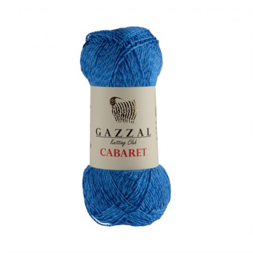 Gazzal Cabaret Mavi El Örgü İpi - 359