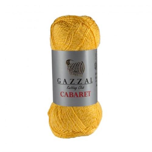 Gazzal Cabaret Hardal Sarısı El Örgü İpi - 360