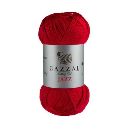 Gazzal Jazz Kırmızı El Örgü İpi - 630