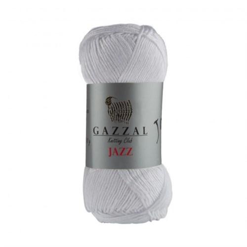 Gazzal Jazz Beyaz El Örgü İpi - 637