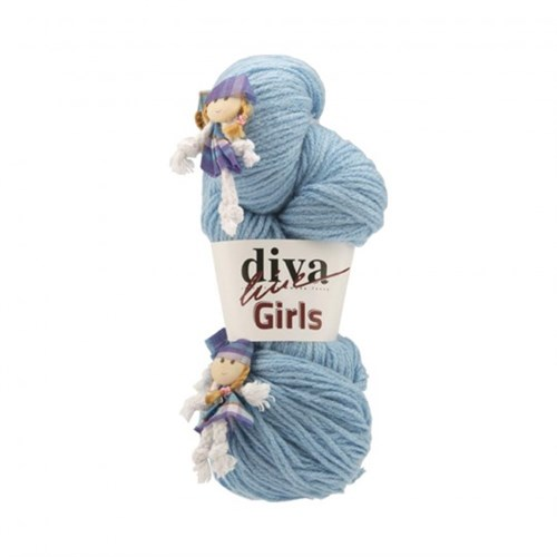 Diva Line Girls Mavi Bebek Yünü
