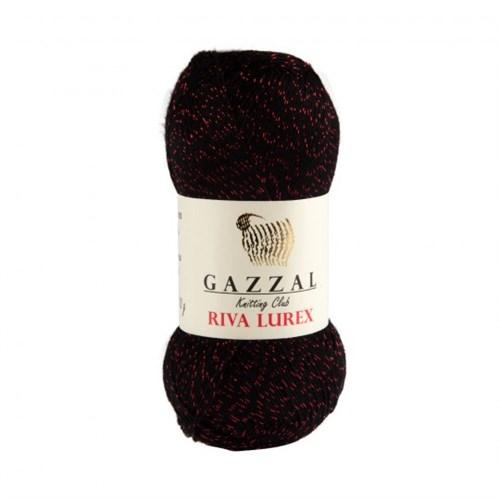 Gazzal Riva Lurex Siyah El Örgü İpi - 2001