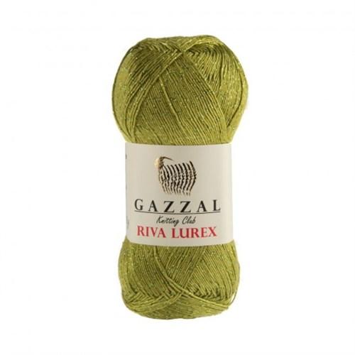 Gazzal Riva Lurex Yeşil El Örgü İpi - 2003