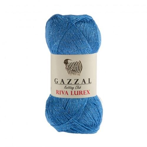 Gazzal Riva Lurex Gök Mavisi El Örgü İpi - 2004