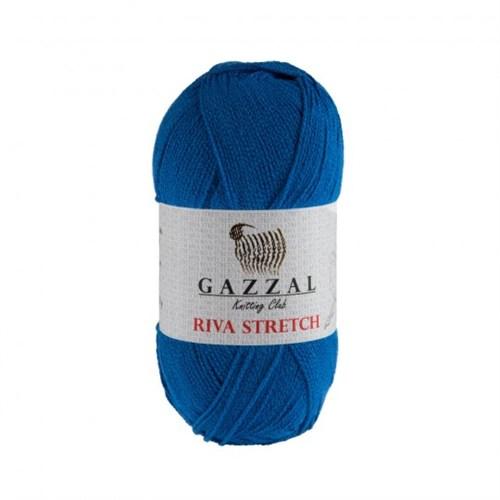 Gazzal Riva Stretch Mavi El Örgü İpi - 2104