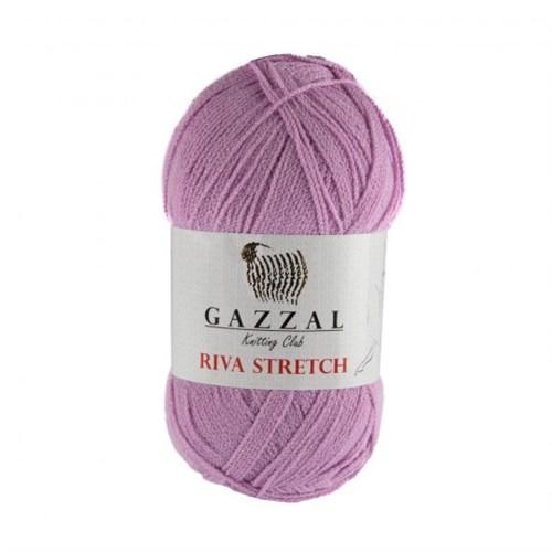 Gazzal Riva Stretch Lila El Örgü İpi - 2111