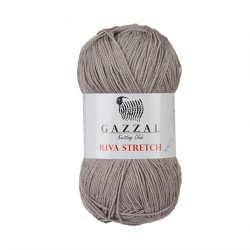 Gazzal Riva Stretch Gri El Örgü İpi - 2101