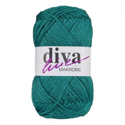 Diva Line Makrome Yeşil El Örgü İpi - 2659
