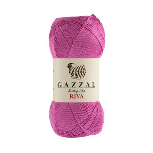 Gazzal Riva Pembe El Örgü İpi - 174