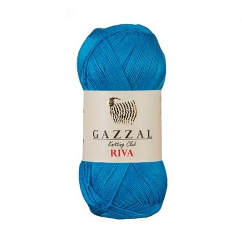 Gazzal Riva Mavi El Örgü İpi - 176