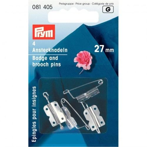 Prym 4 Adet Çelik Yaka Broş İğnesi Aparatı - 081405
