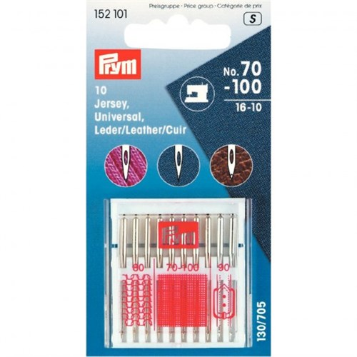 Prym 10 Adet 4 Boy Düz Saplı Dikiş Makinesi İğnesi - 152101