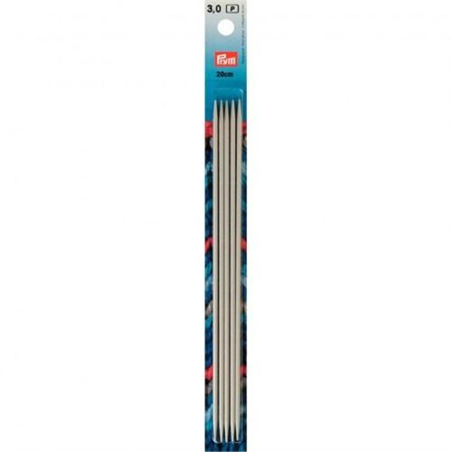 Prym 3 Mm 20 Cm Alüminyum 5'Li Çorap Şişi - 191490