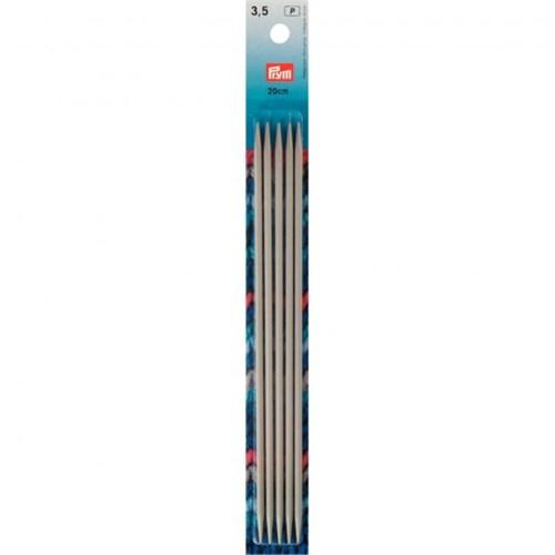 Prym 3,5 Mm 20 Cm Alüminyum 5'Li Çorap Şişi - 191491
