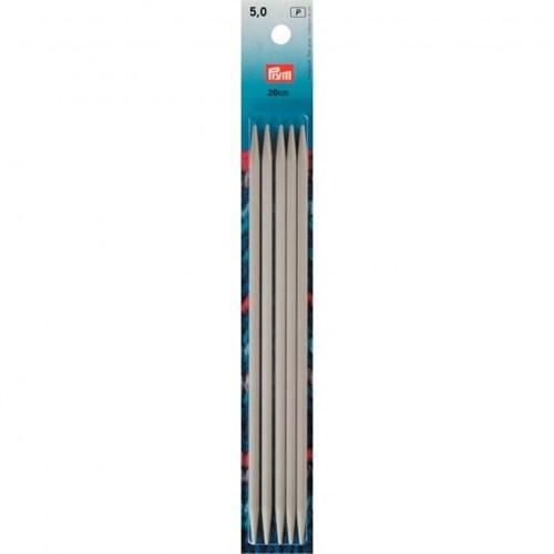 Prym 5 Mm 20 Cm Alüminyum 5'Li Çorap Şişi - 191494